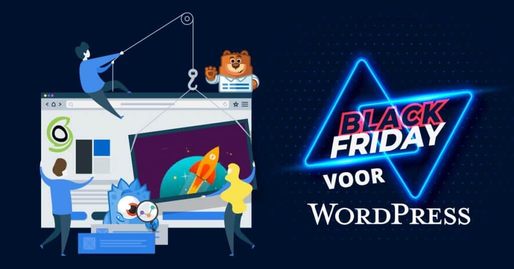 Black Friday kortingen voor WordPress