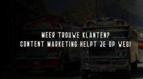 Content Marketing Strategy maakt klanten trouw