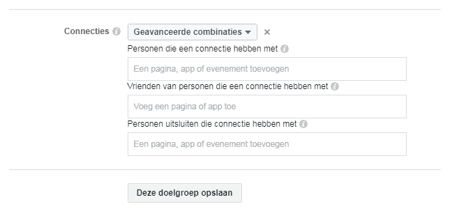 facebook advertentietips connecties