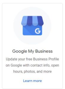 Google Mijn Bedrijf - S