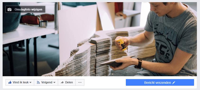 Facebook omslagfoto wijzigen