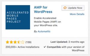 AMP voor WordPress