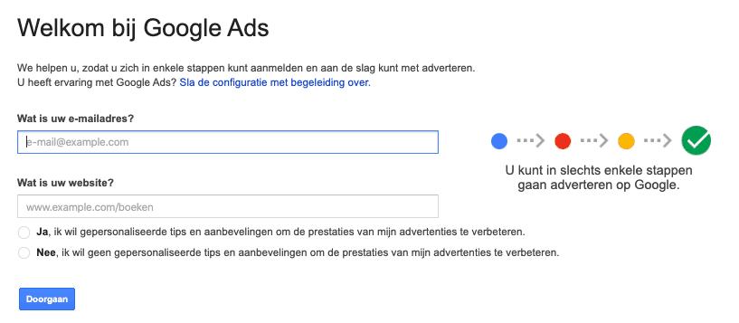 Google Ads inloggen
