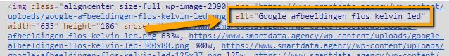 Alt tag html