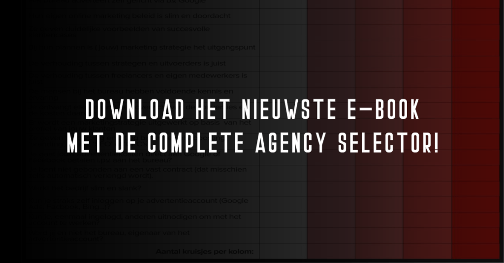 download het e-book met de agency selector