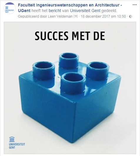 facebook marketing tips wees positief