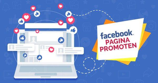 Facebook pagina promoten