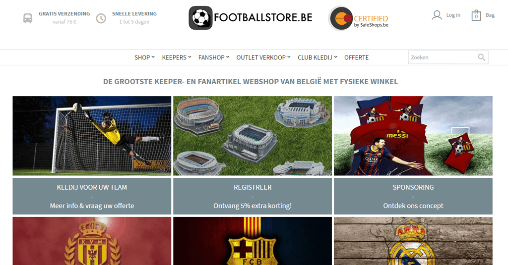 FootballStore.be