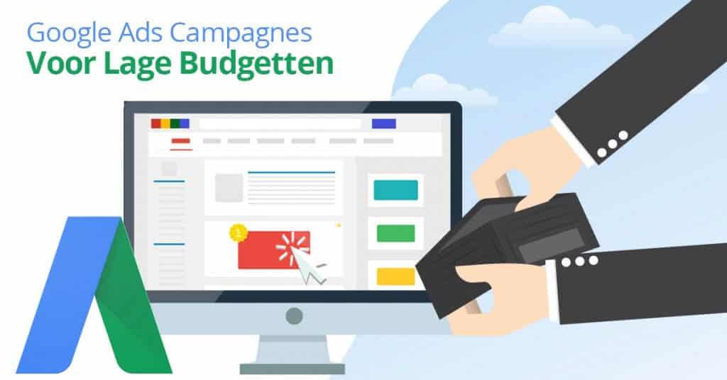 Google Ads voor lage budgetten