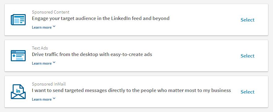 soorten advertenties