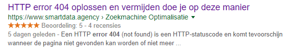 Meta description vet gedrukt.