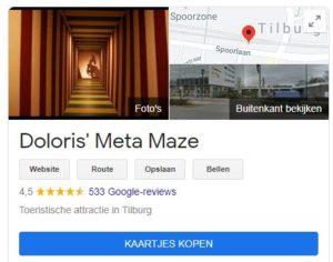 reviews op Google My Business