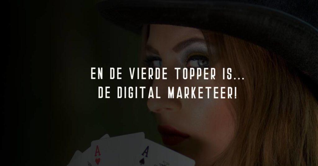 digital markteer als vierde topper